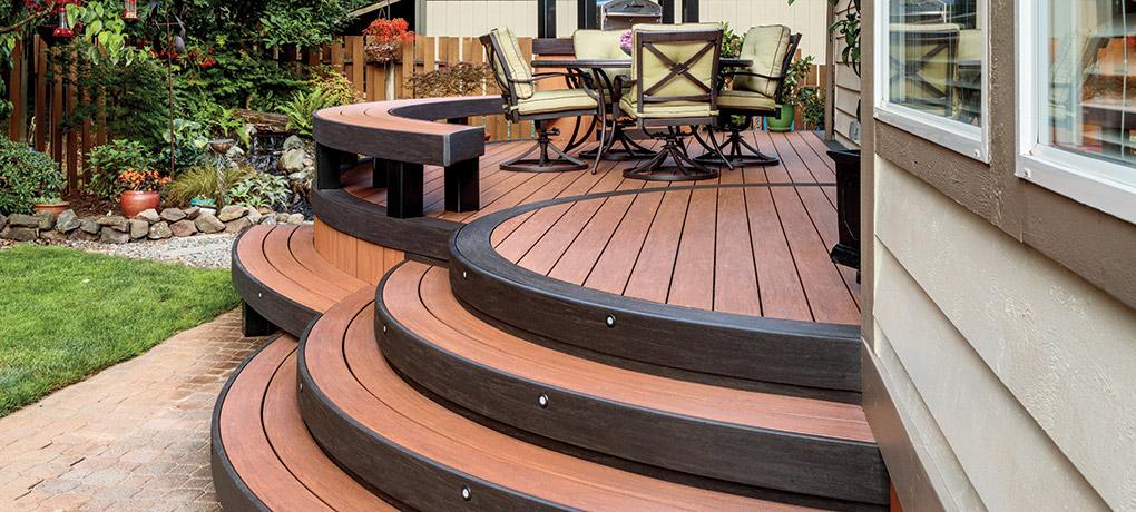 Outdoor Structures - Decks - AZEK Decking - Kauffman Lawn