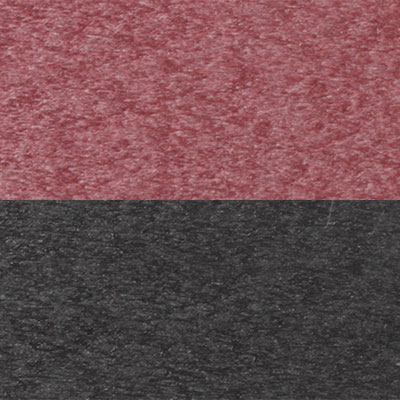 Berlin Gardens Finish: Burgundy On Black