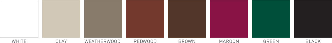Standard Vinyl Colors