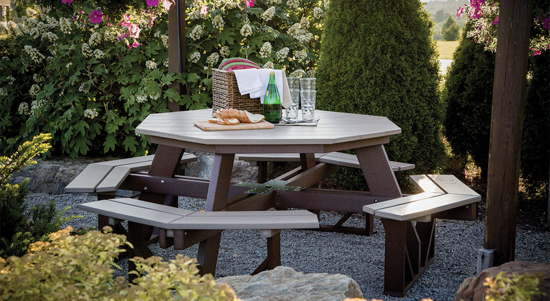 Picnic Tables & Benches Collection by Berlin Gardens